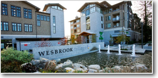 A photo of the Wesbrook Village